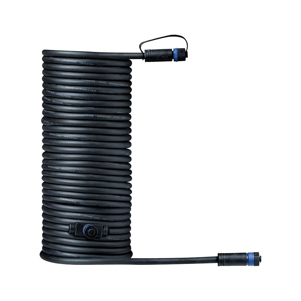 Paulmann Plug & Shine onderdeel kabel 10 meter met 2 uitgangen