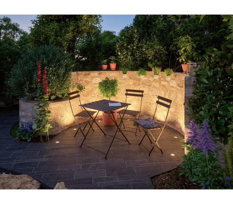 Plug & Shine buitenlamp grondinbouwspot Floor mini warm wit licht