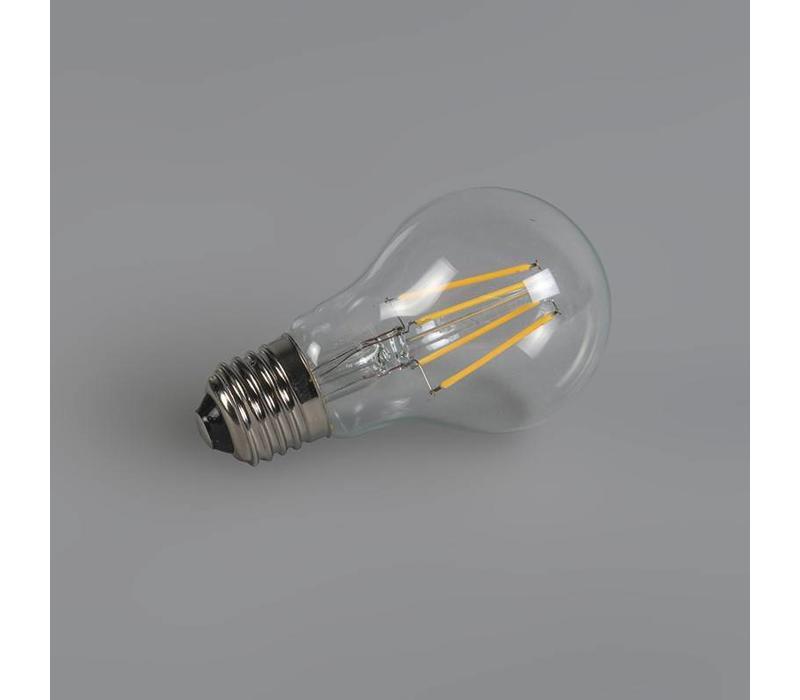 LED E27 lamp 4 Watt filament dag nacht sensor