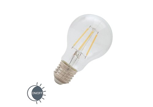 Lamponline LED E27 lamp 4 Watt filament dag nacht sensor