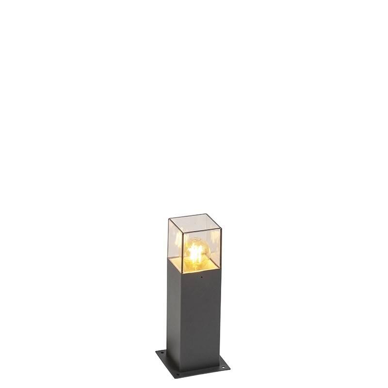 Lamponline Buitenlamp Cube staand grijs klein