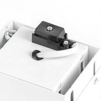 Inbouwspot Bado 1 lichts Gu10 wit Trimless