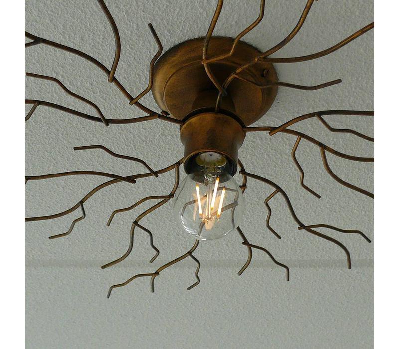 Plafondlamp Bichero Ø 60 cm goud