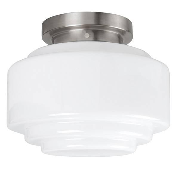 Highlight Plafondlamp Deco Cambridge Ø 30 cm wit