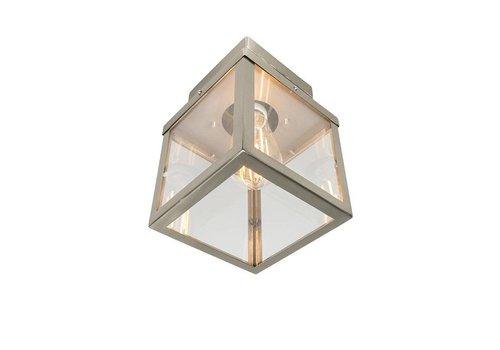 Lamponline Buitenlamp Blaricum RVS plafond klein