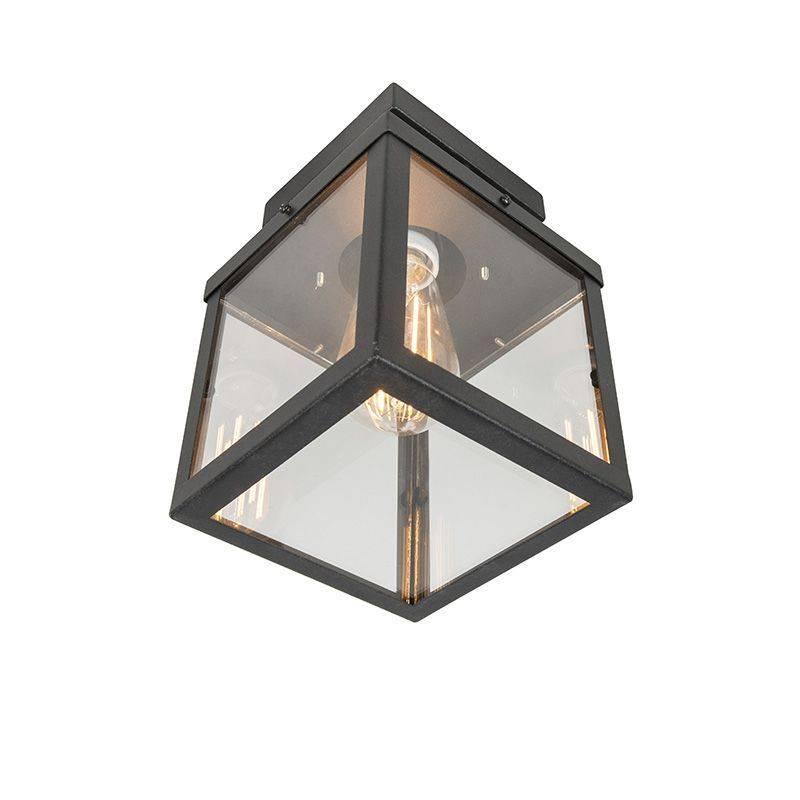 Lamponline Buitenlamp Blaricum Zwart Plafond Klein