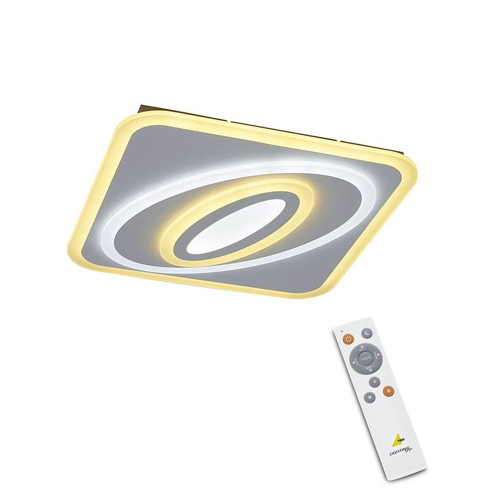 Trio Leuchten Plafondlamp Suzuka LED klein remote