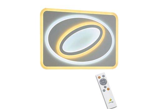 Trio Leuchten Plafondlamp Suzuka LED groot remote