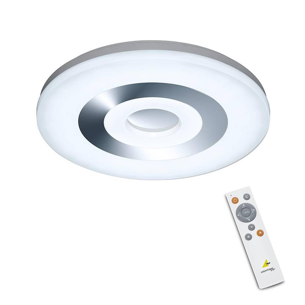 Trio Leuchten Plafondlamp Shaolin LED remote Binnenverlichting