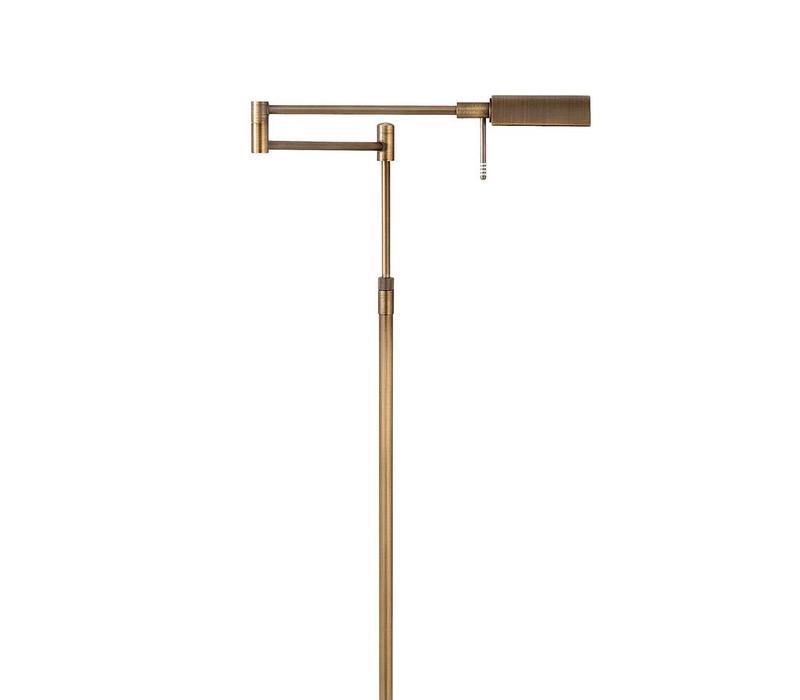 Vloerlamp New Bari brons