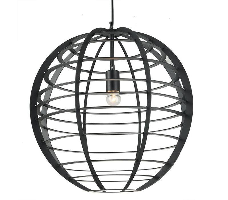 Hanglamp Pluto Ø 50 cm zwart