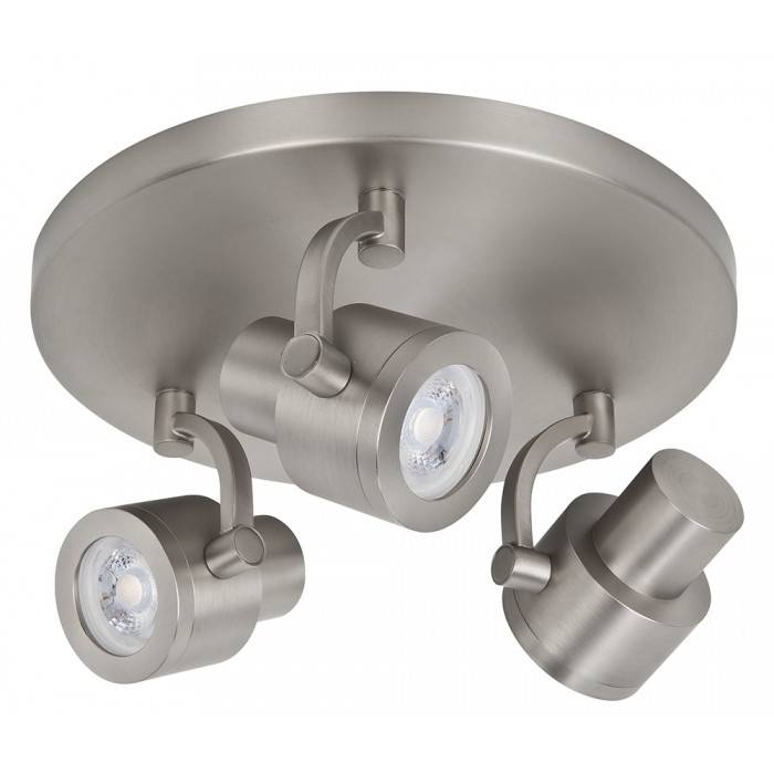 Highlight Spot Alto LED mat chroom 3 lichts