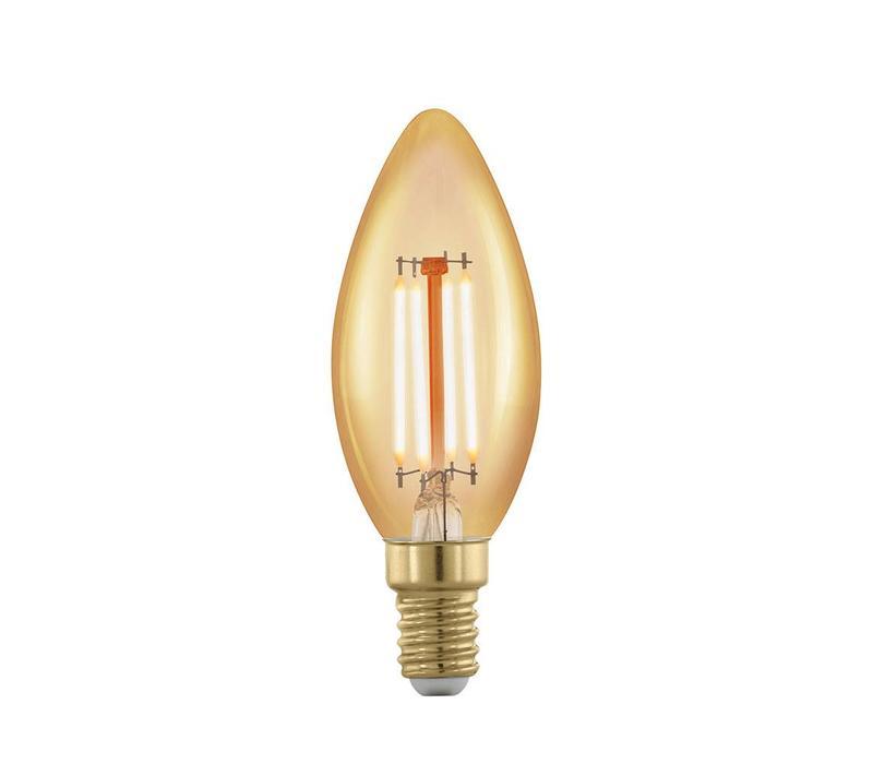LED E14 kaars helder 4 Watt filament DIM