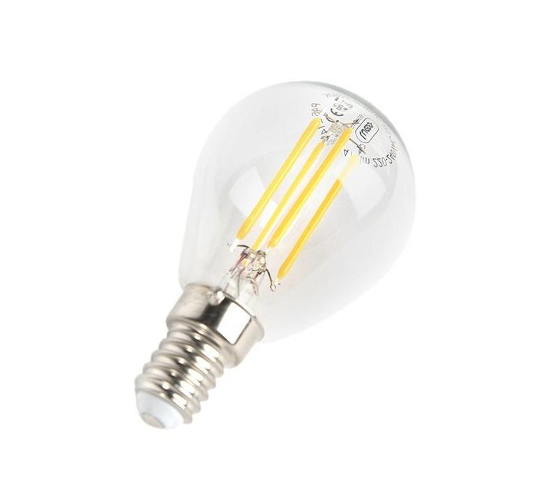 LED E14 kogel helder 5 Watt filament