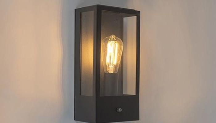 Buitenlamp met dag nacht sensor
