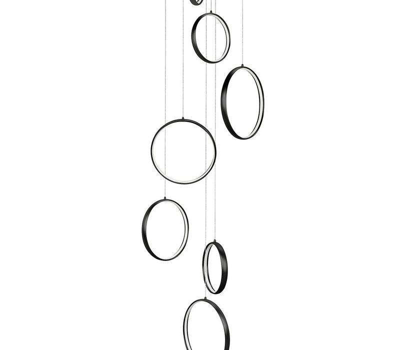 Hanglamp Olympia zwart groot