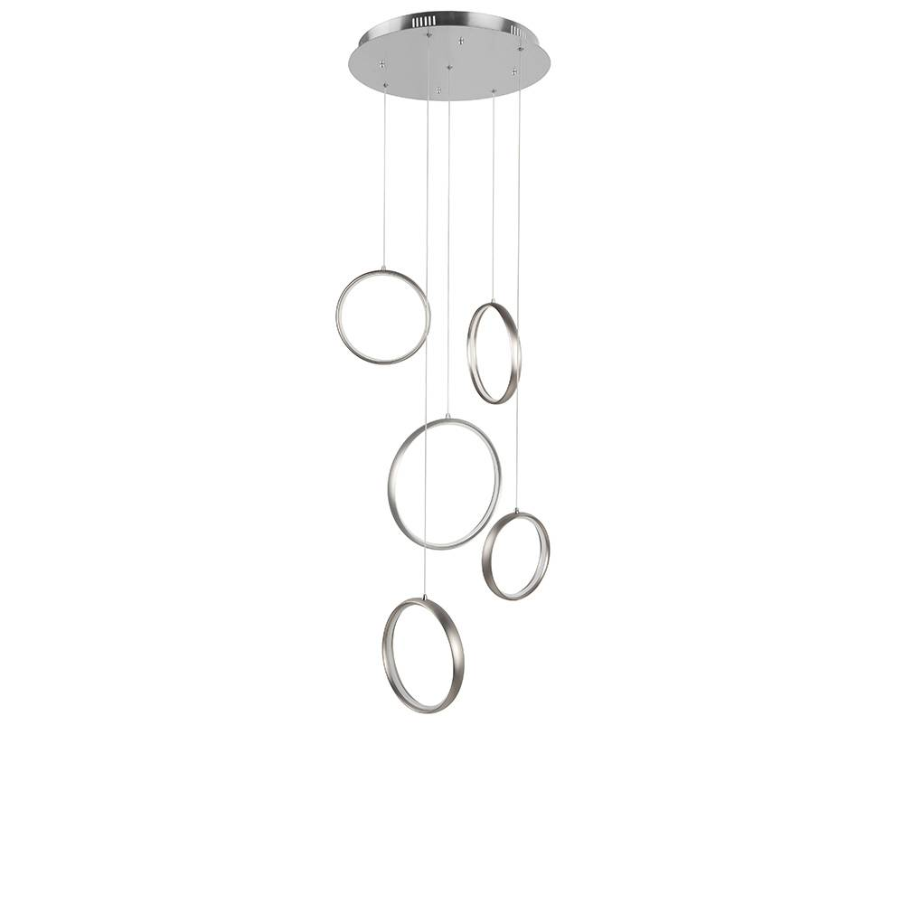 Highlight Hanglamp Olympia Mat-chroom Klein