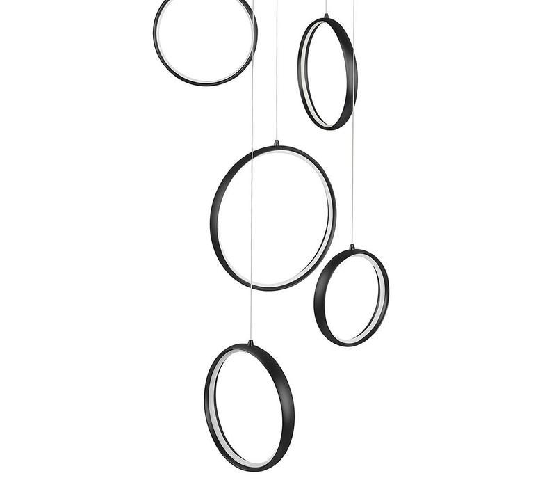 Hanglamp Olympia zwart klein