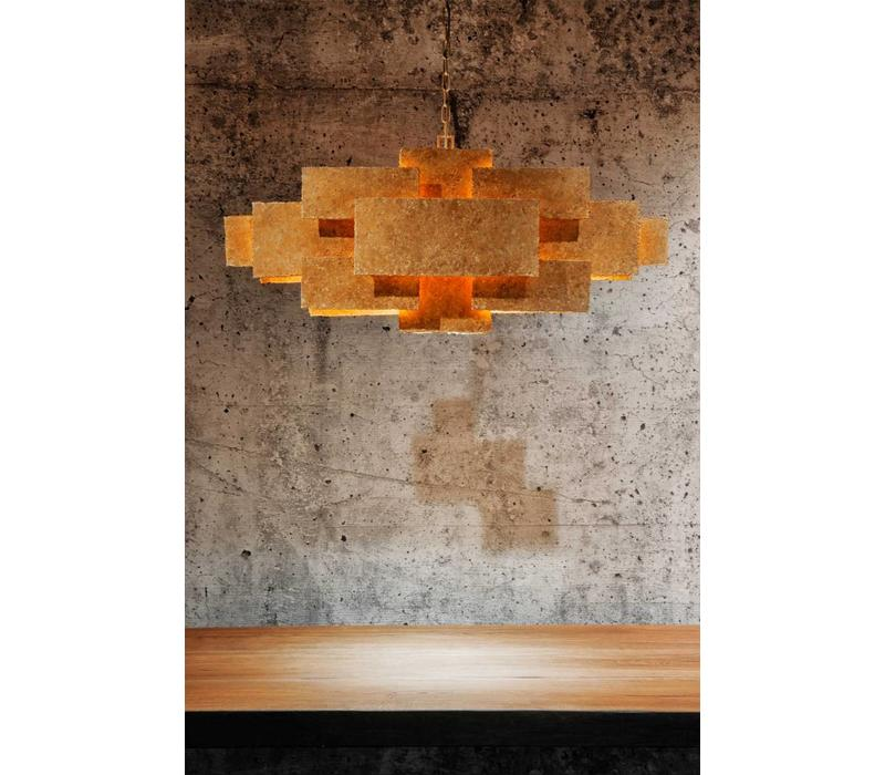 Hanglamp Beluga oud brons