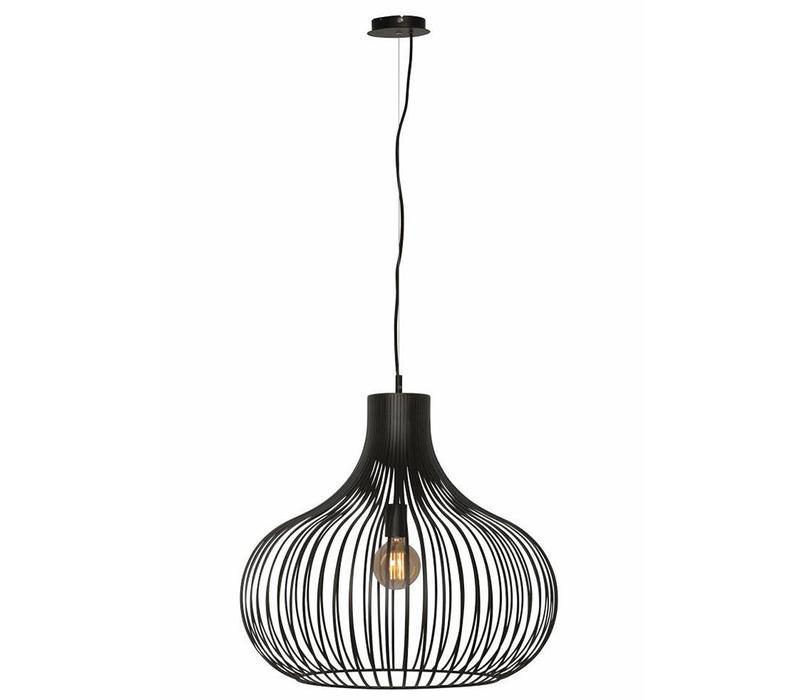 Hanglamp Aglio 60 cm zwart