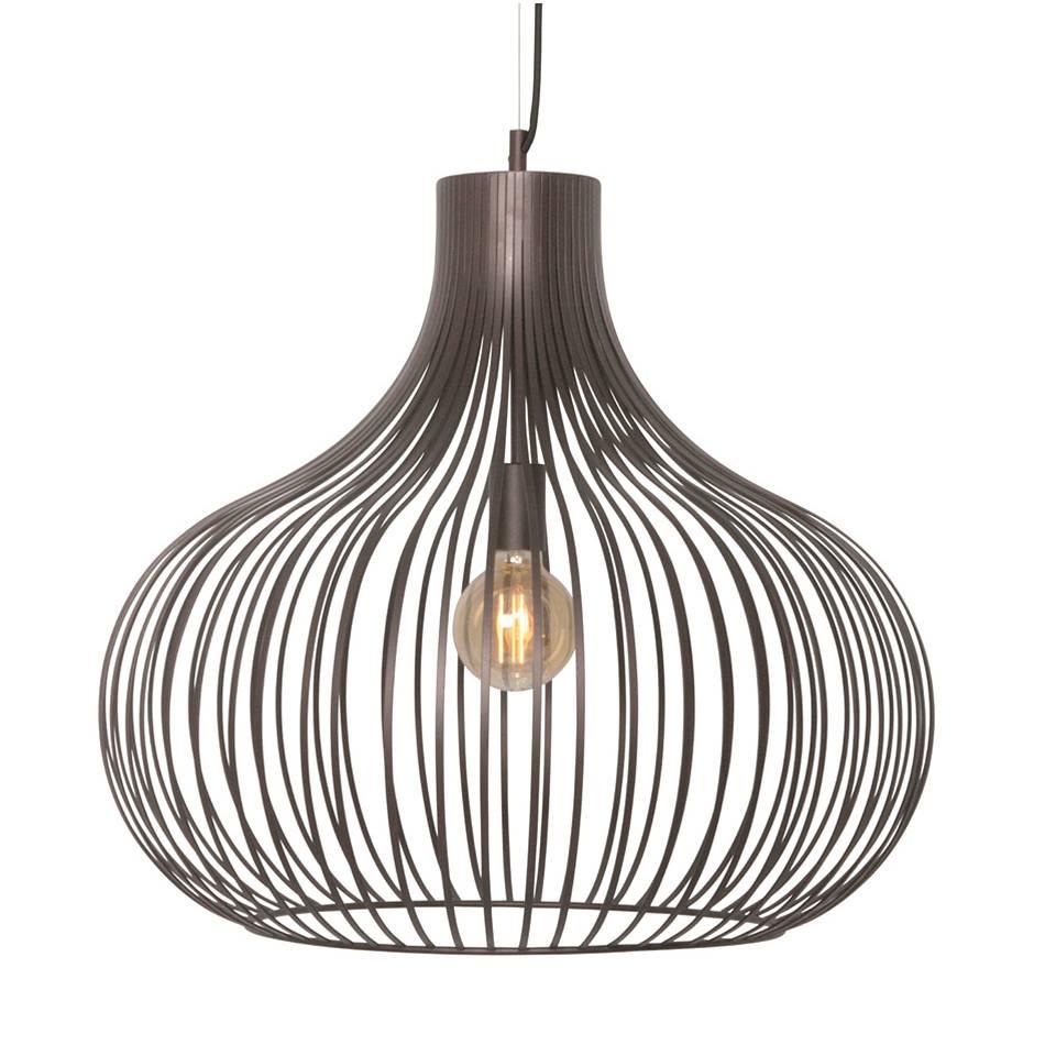 Freelight Hanglamp Aglio 60 Cm Bruin