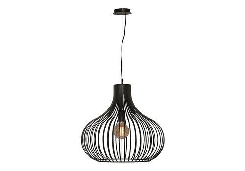 Freelight Hanglamp Aglio 48 cm zwart