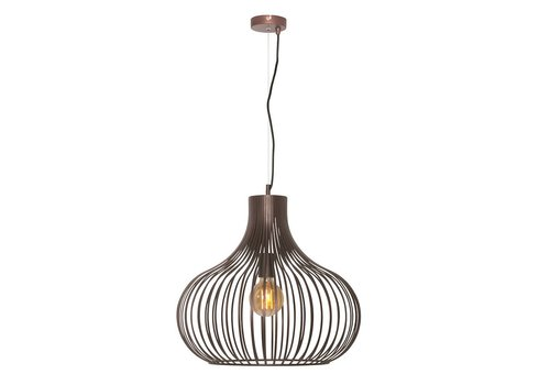 Freelight Hanglamp Aglio 48 cm bruin