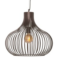 Hanglamp Aglio 48 cm bruin