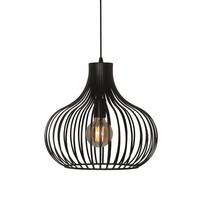 Hanglamp Aglio 38 cm zwart