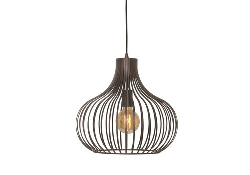 Freelight Hanglamp Aglio 38 cm bruin