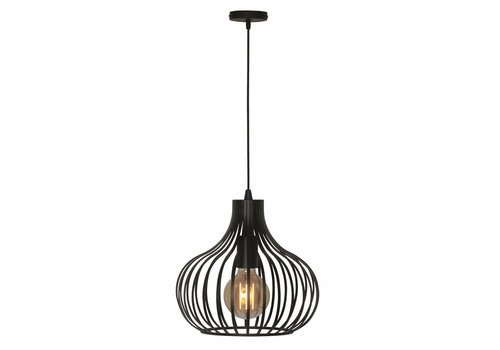 Freelight Hanglamp Aglio 28 cm zwart