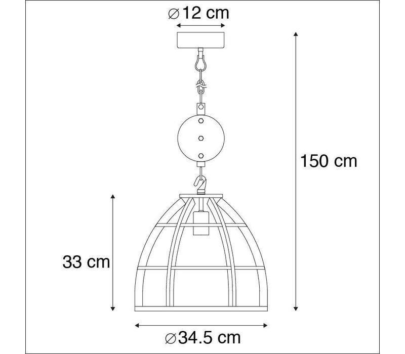 Hanglamp Birdy klein