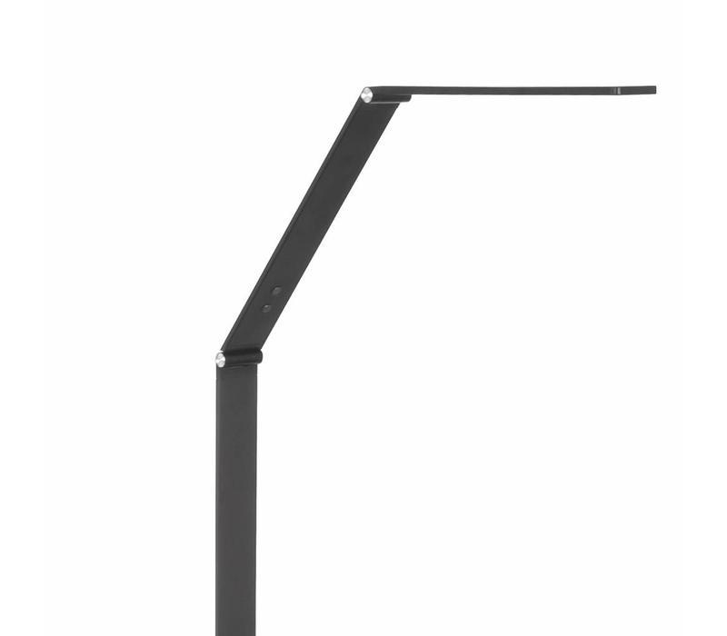 Vloerlamp Optimus mat zwart