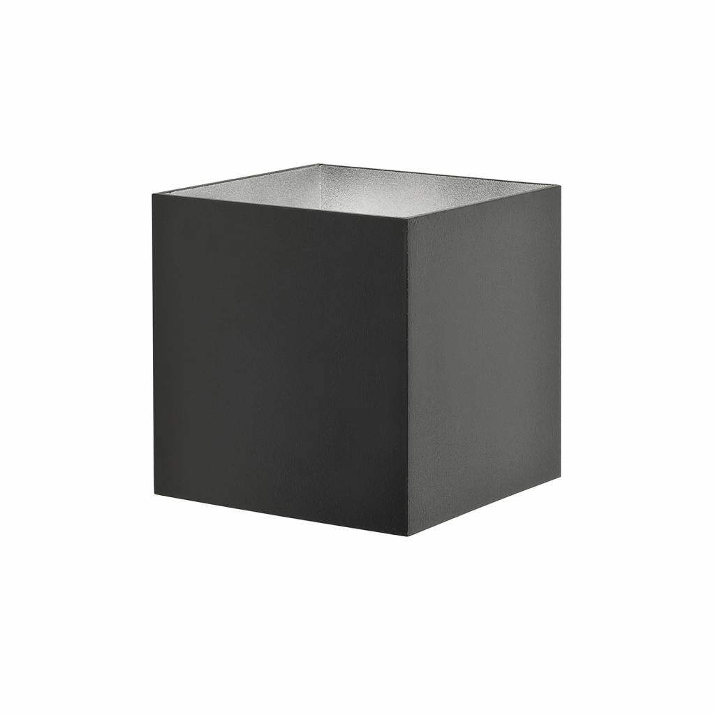 Highlight Wandlamp Square zwart verstelbare bundel