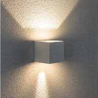 Wandlamp Square beton verstelbare bundel