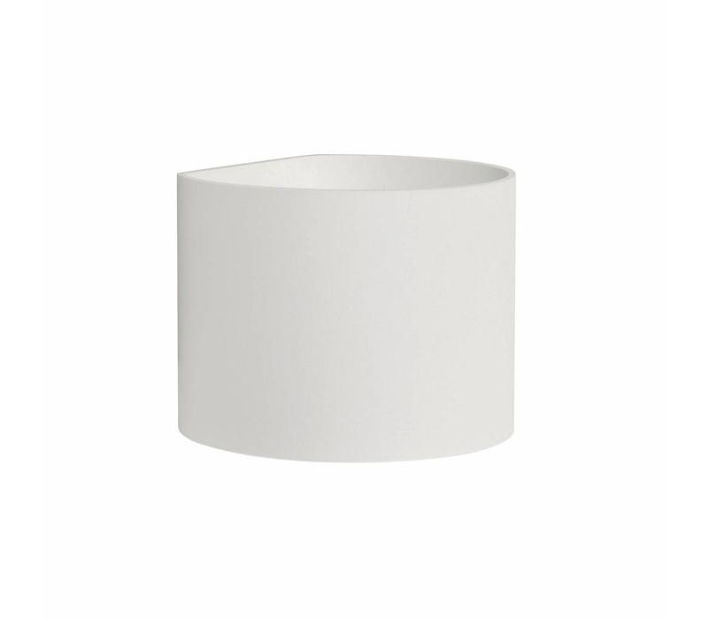 Wandlamp Round wit verstelbare bundel