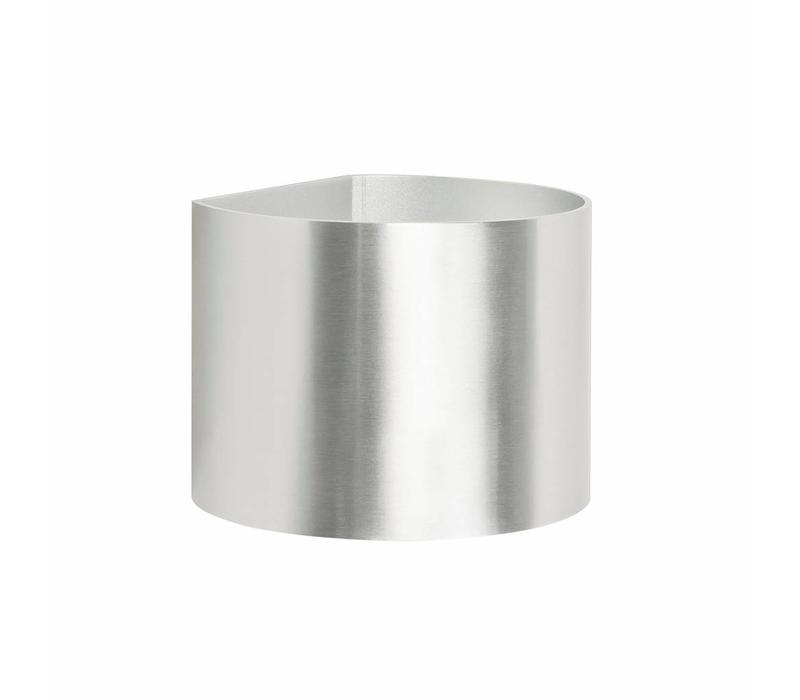 Wandlamp Round mat chroom verstelbare bundel