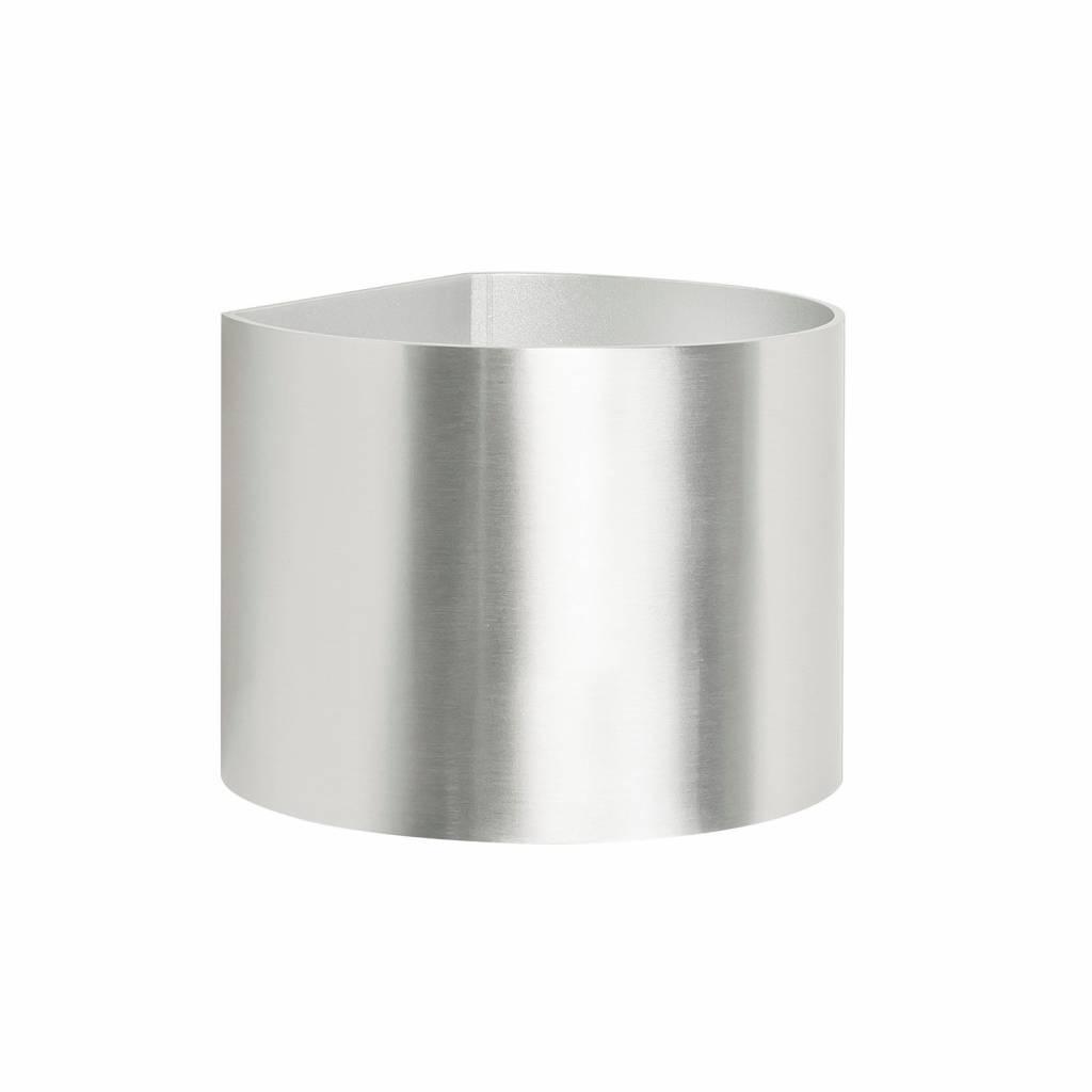 Highlight Wandlamp Round mat chroom verstelbare bundel