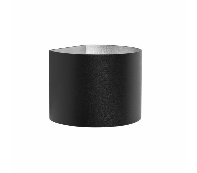 Wandlamp Round zwart verstelbare bundel