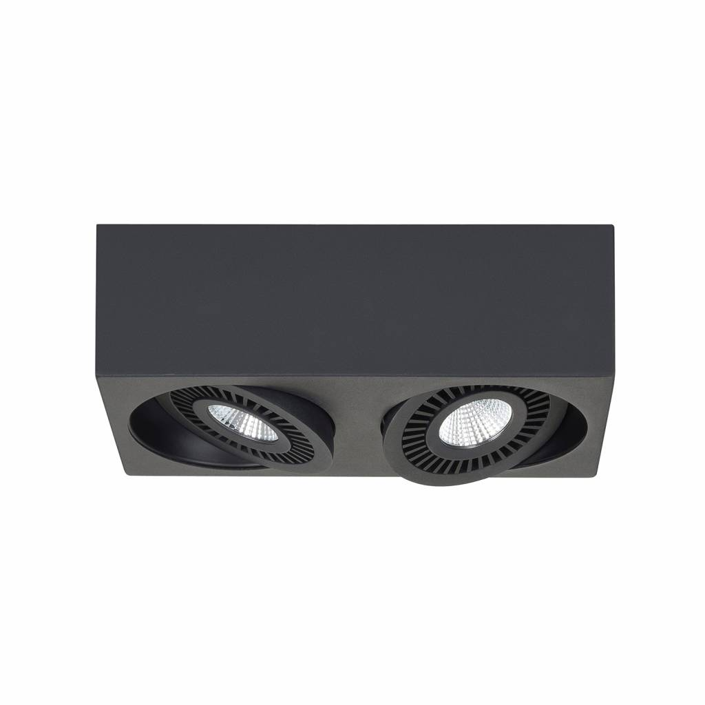 Highlight Spot Eye 2 lichts zwart