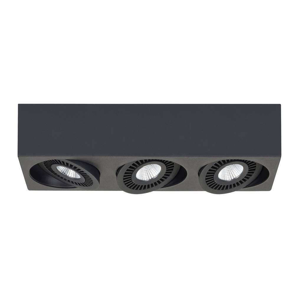 Highlight Spot Eye 3 lichts zwart