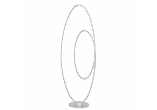 Highlight Vloerlamp Elegance zilver