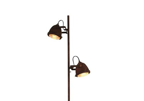 Freelight Vloerlamp Woody  roest-hout