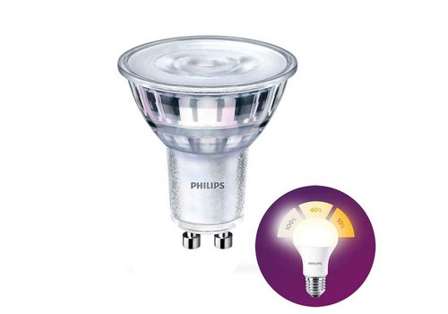 Philips LED GU10 lamp 4,5 Watt Philips SceneSwitch DIM