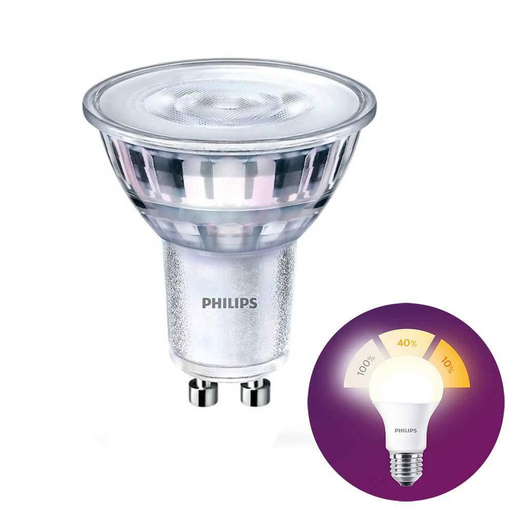 Philips LED GU10 lamp 4,5 Watt Philips SceneSwitch DIM