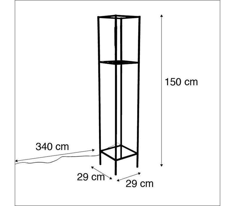 Vloerlamp Cage