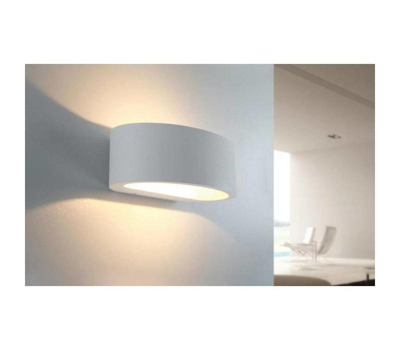 Wandlamp Sharp wit