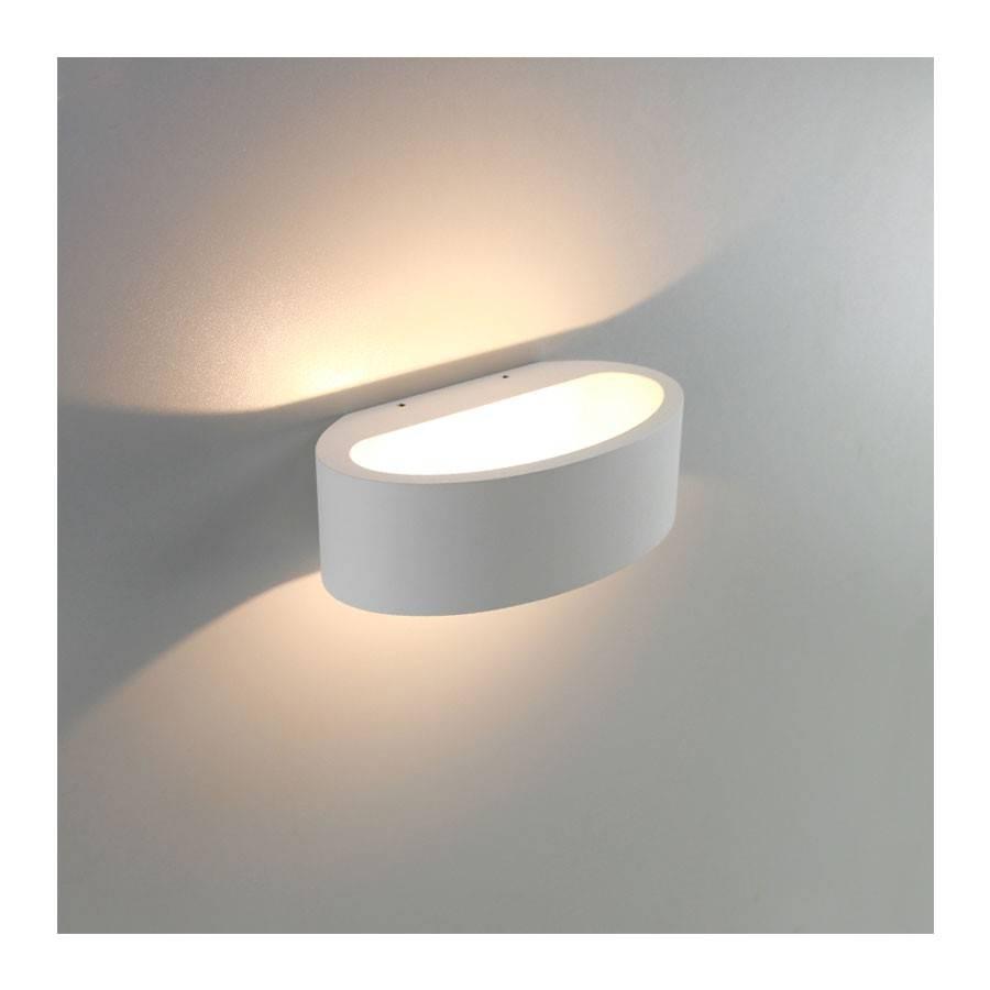 Artdelight Wandlamp Sharp wit