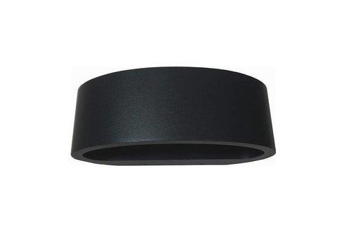 Artdelight Wandlamp Sharp zwart
