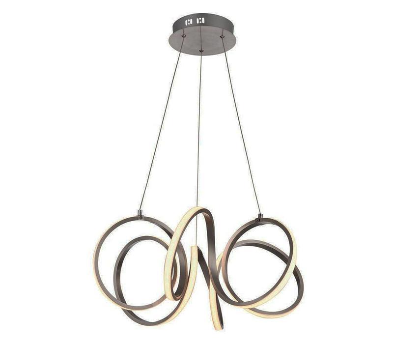 Hanglamp Raffinato mat chroom